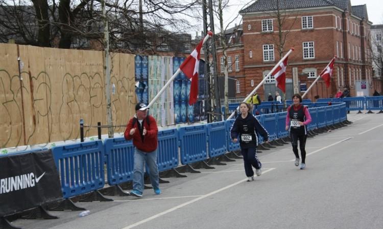 Idrætsskolen med i ½-marathon i København