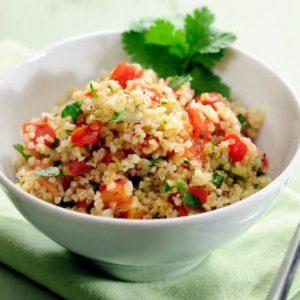 Couscous salat med bredbladet persille