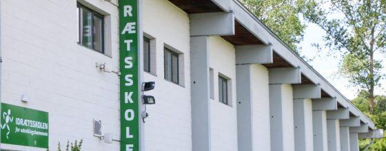 Se Idrætsskolens lokaler