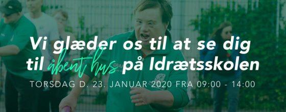 Torsdag den 23. januar 2020, slår vi dørene op til åbent hus!